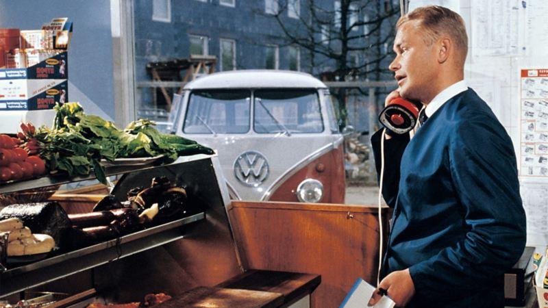 Hemleverans med Transporter 1965