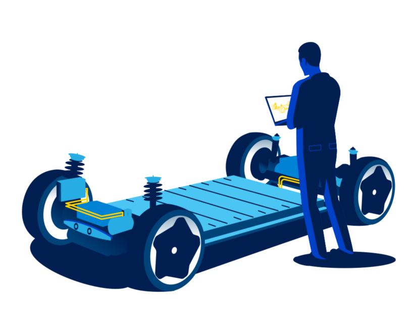 La piattaforma per veicoli SME