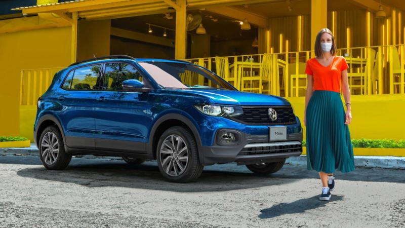 Conoce el precio del SUV T-Cross 2021 y aprovecha las promociones Volkswagen durante todo diciembre