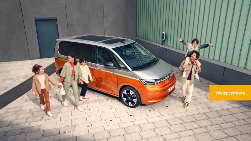 Der neue VW Multivan feiert Weltpremiere.