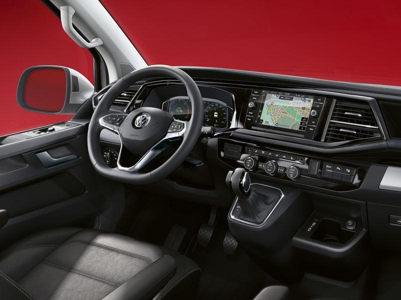 Kokpit w Volkswagen Multivan 6.1 Cruise.