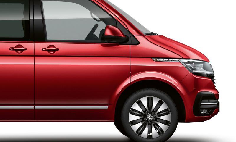 Lakier metaliczny Volkswagen Multivan 6.1 w kolorze Fortanarot.