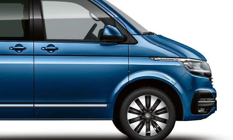Lakier metaliczny Volkswagen Multivan 6.1 w kolorze Ravennablau.
