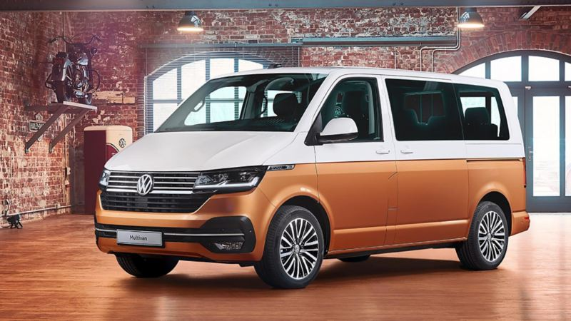 Nya VW Multivan T6.1