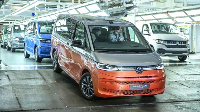 avvio della produzione del nuovo Multivan presso il modernissimo stabilimento di Hannover