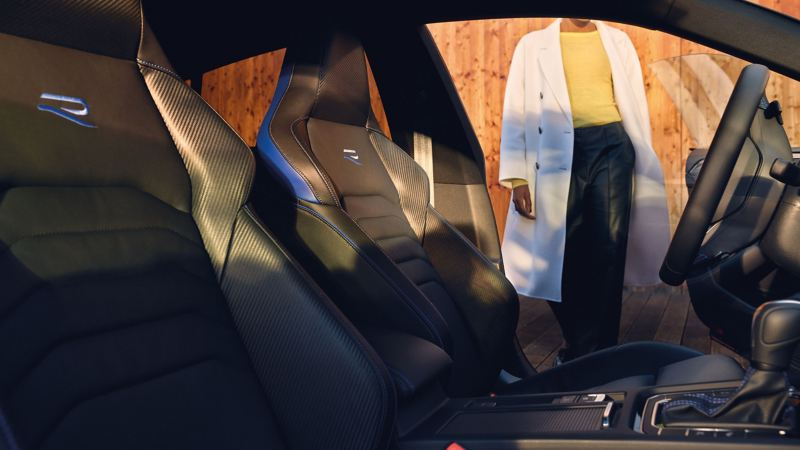 Close view of the Volkswagen Arteon Shooting Brake R interior