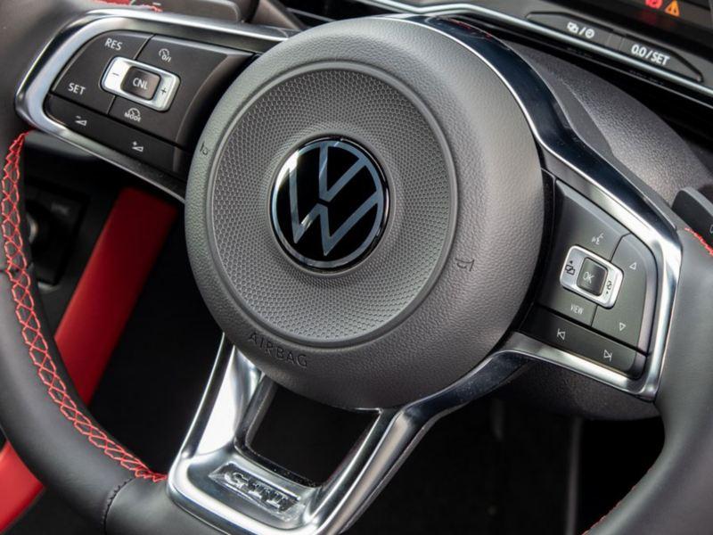 new logo polo gti steering wheel