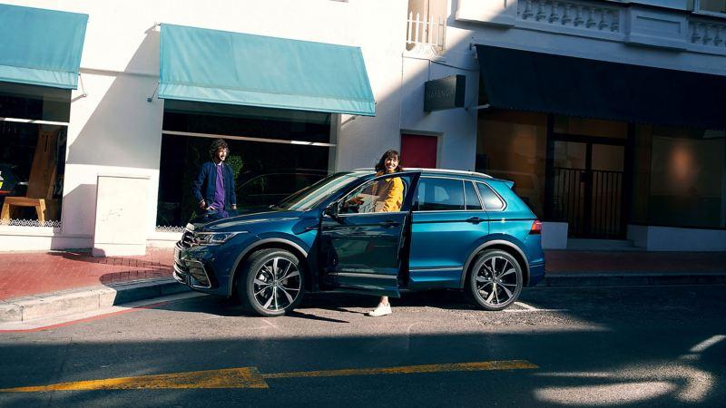 The Volkswagen New Tiguan