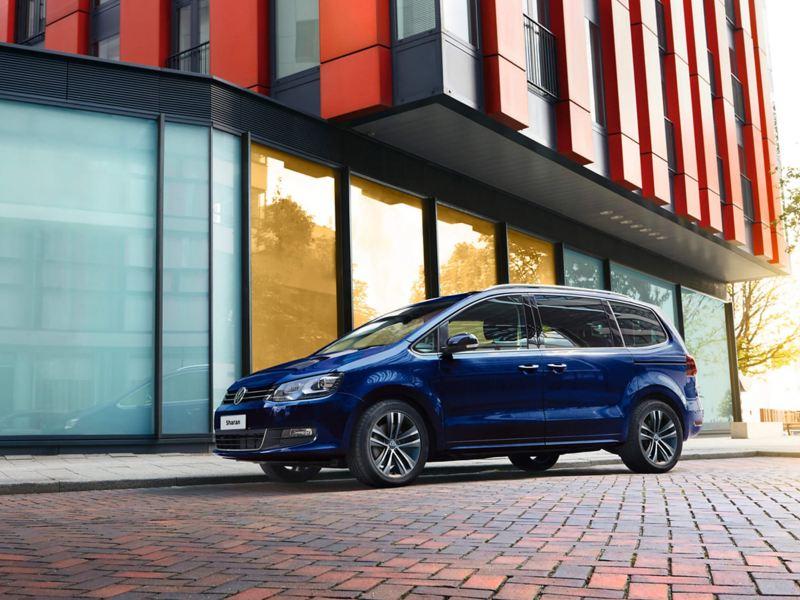 Volkswagen Sharan parked stationary