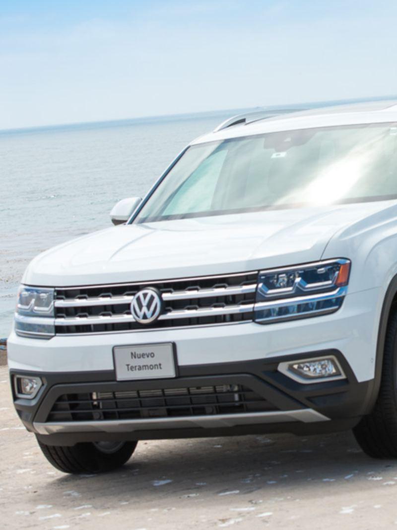 Camioneta Teramont de Volkswagen equipado con los mejores sistemas de seguridad
