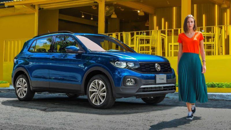 T-Cross, el SUV ideal para ciudad, en promoción durante enero 2021 en Volkswagen