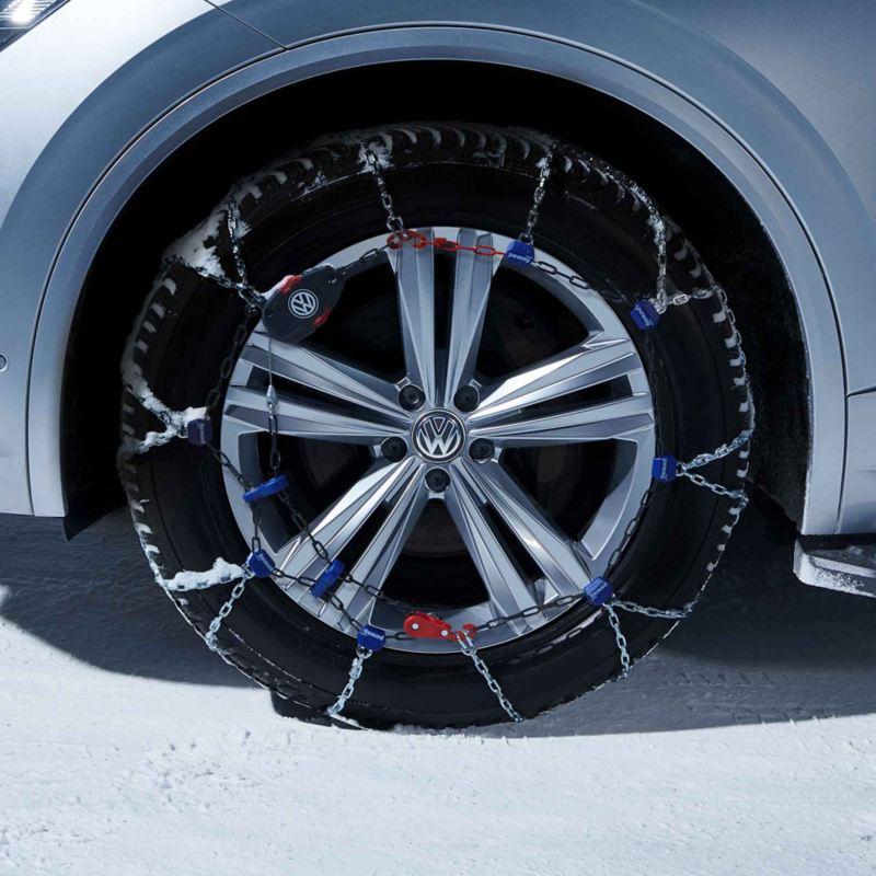 Pneumatico invernale catenato Volkswagen
