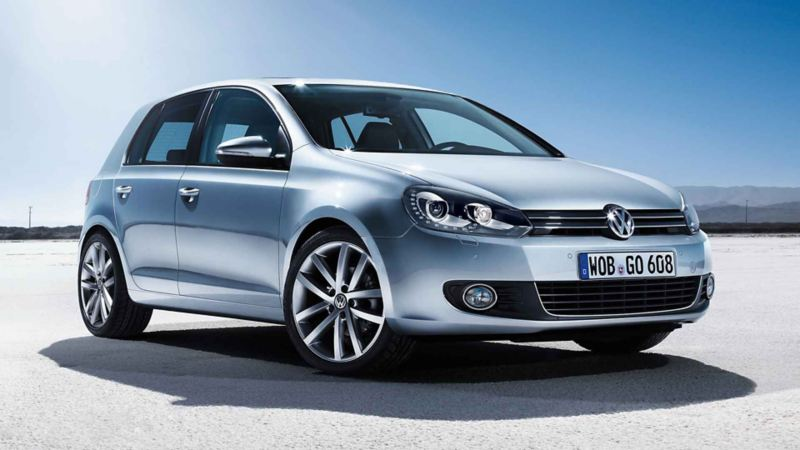 Angolo frontale Volkswagen Golf 6