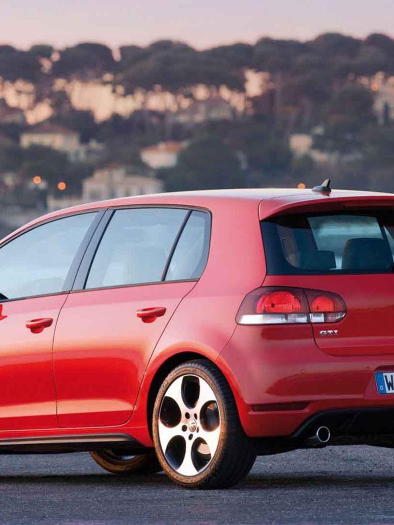 Dettaglio posteriore Volkswagen Golf 6 GTI