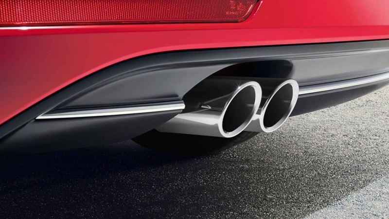 Dettaglio posteriore Volkswagen Golf