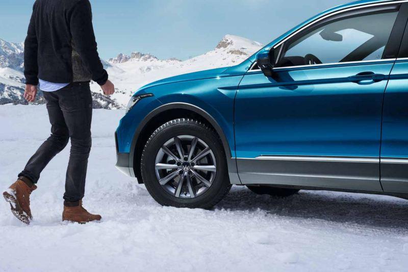 Volkswagen Touareg con pneumatici invernali