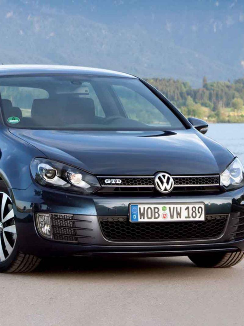 Frontale Volkswagen Golf 6 GTD - VW Service