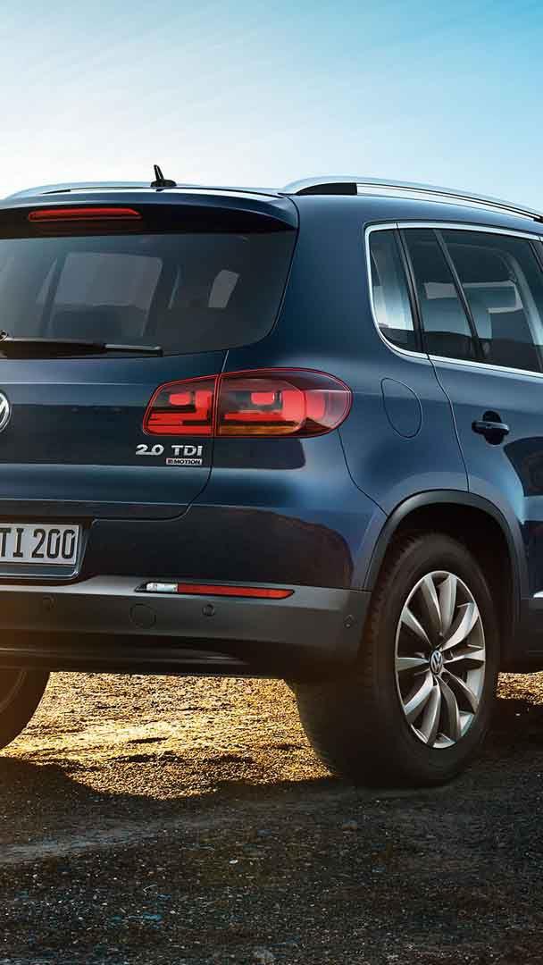 Volkswagen Tiguan in marcia.