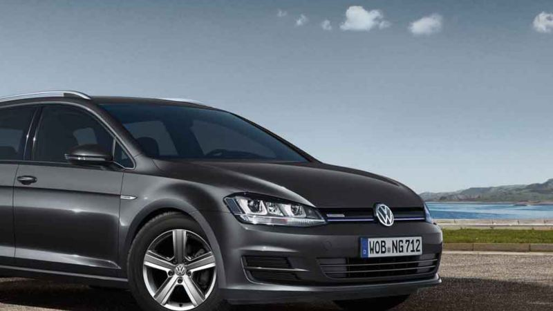 Una Volkswagen con tecnologia BlueMotion.