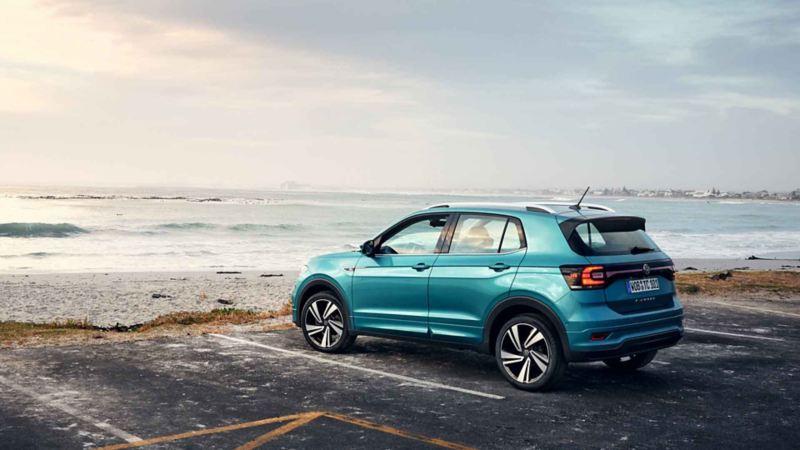 Una Volkswagen con pneumatici All Season.