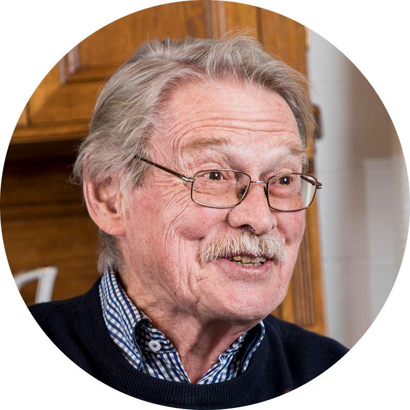 Portrait of Volkswagen developer Dr. Adolf Kalberlah