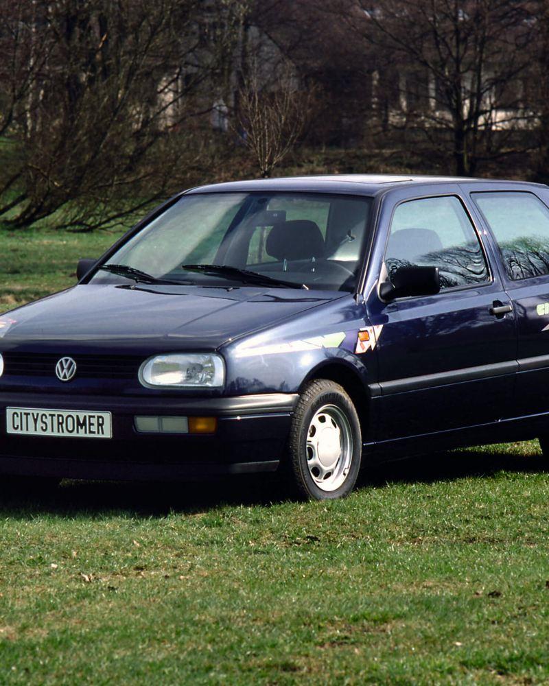 A Volkswagen City StroMER