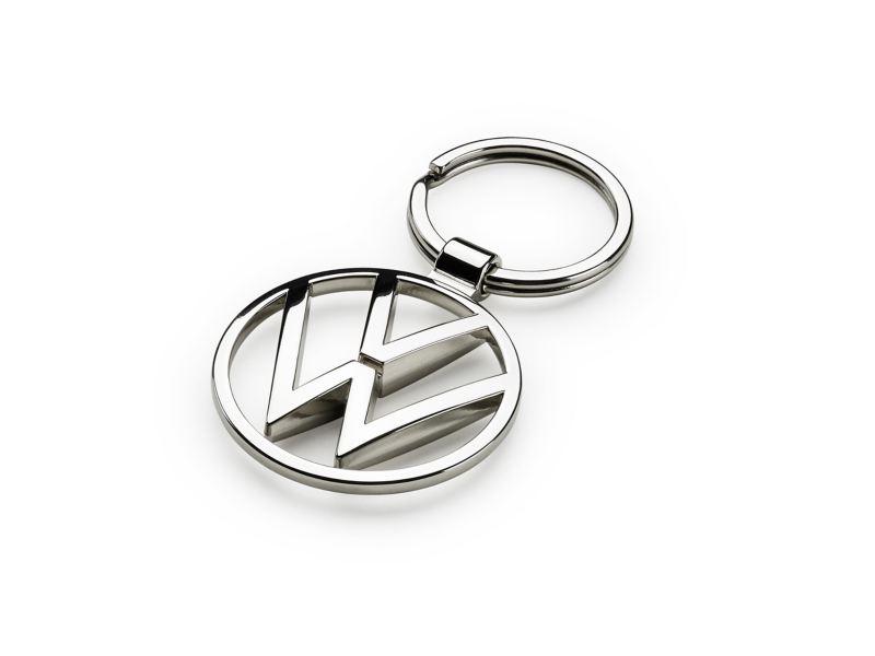 VW silver keyring