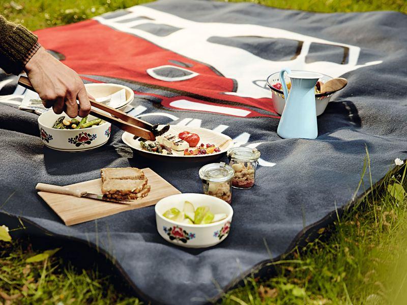 Volkswagen Camper Van picnic blanket