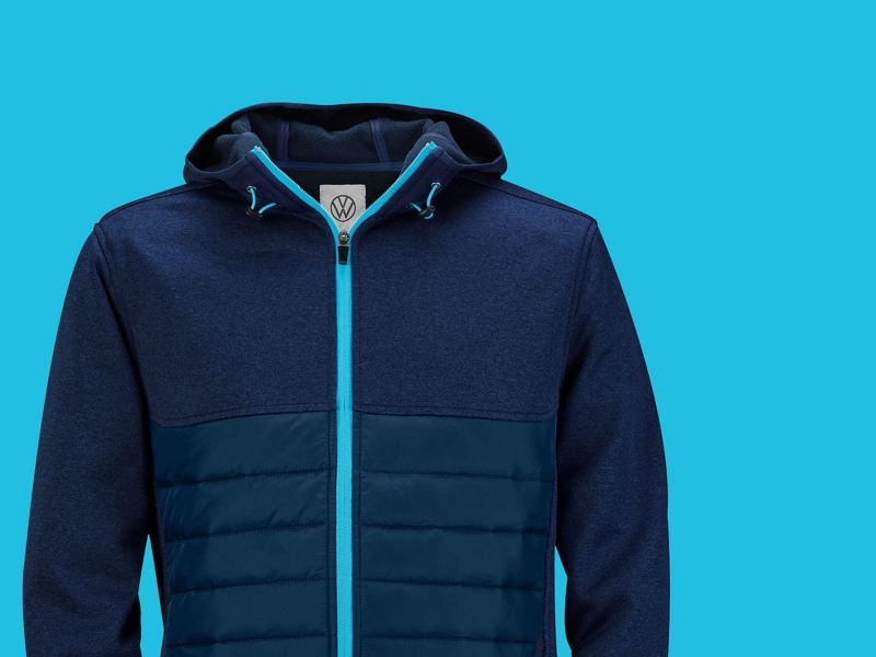 outdoor blue id collection jacket