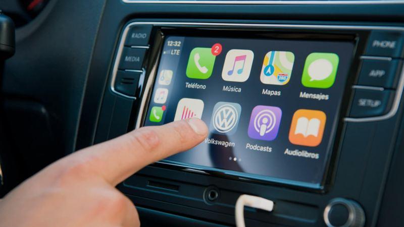 Nuevo Polo 2020, el auto compacto más seguro de Volkswagen equipado con Volkswagen App Connect
