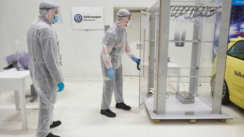 pantallas protectoras Volkswagen