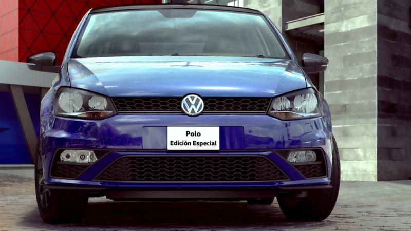 Parrilla de Volkswagen Polo 2021 Edición Especial. Carro compacto con diseño deportivo y elegante