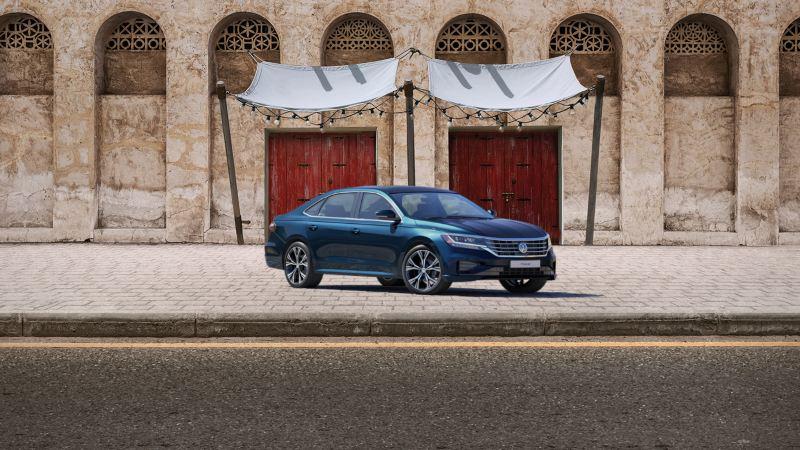 Volkswagen KSA Ramadan offer for the new T-Roc and Passat.