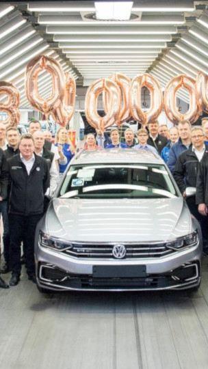 Rekord na rozpoczęcie sprzedaży nowego modelu: wyprodukowano 30-milionowego Passata