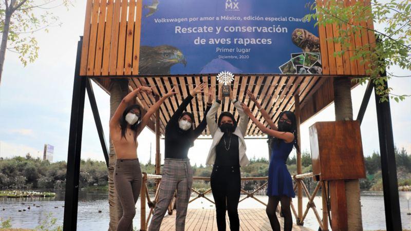 Premiación de Proyecto Ecológico ganador en concurso ecológico de Volkswagen México