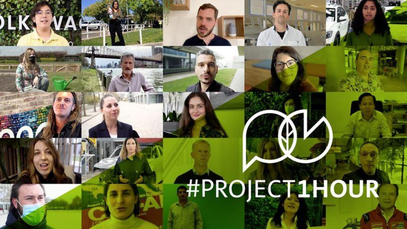 #Project1Hour: 660.000 pracowników Grupy Volkswagen rozpoczyna największą kampanię na rzecz ochrony klimatu w historii koncernu