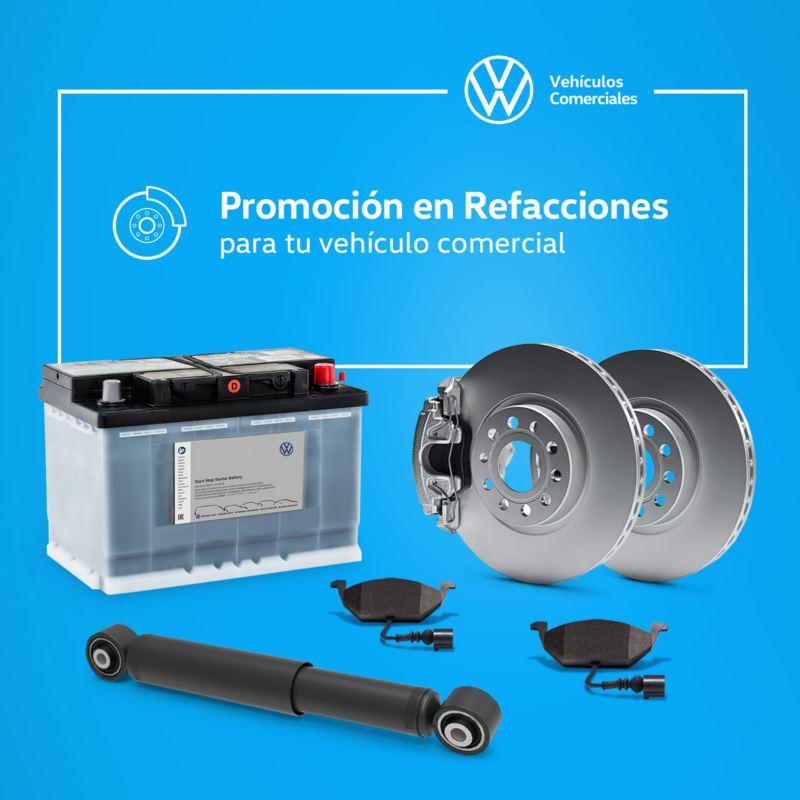 Promoción en refacciones para tu vehículo Volkswagen
