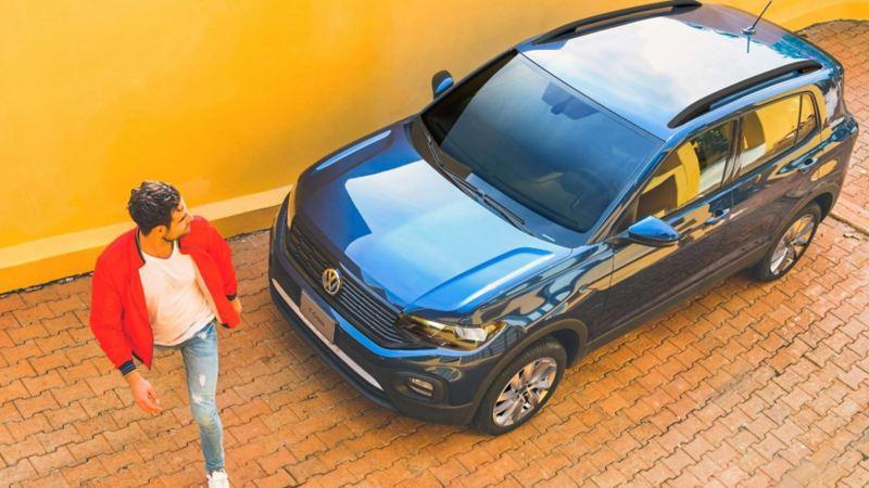 Imagen de promoción de camioneta T-Cross Tredline Standard 2021 en Volkswagen.