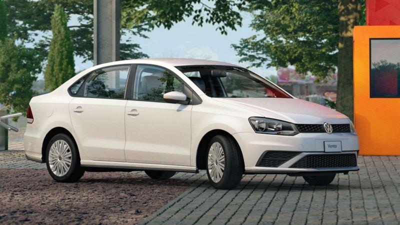 Imagen de Vento 2021 en oferta con Volkswagen durante el mes de julio.