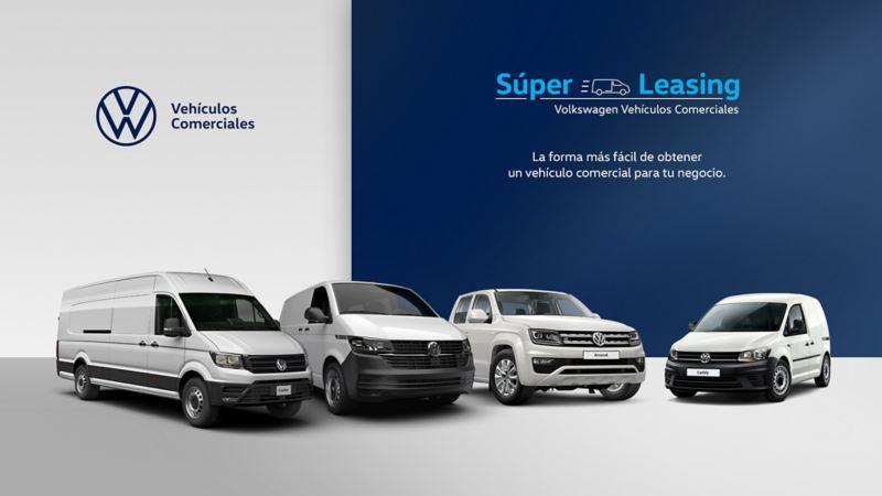 Super leasing promoción VW Vehículos Comerciales