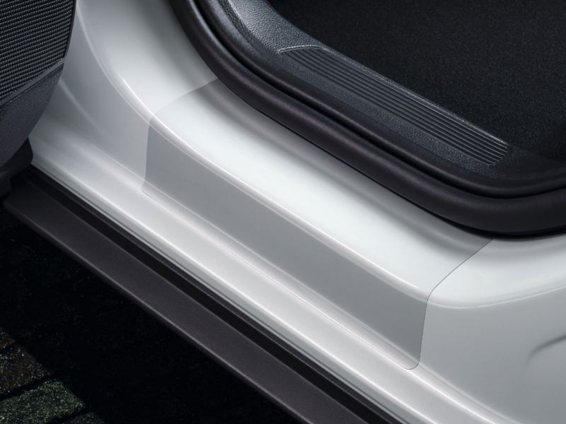 protective Film for the sill Rail transparent rear