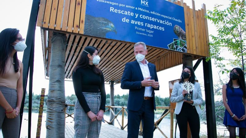 Proyecto ganador de concurso Por Amor a México Ch@vos de Volkswagen
