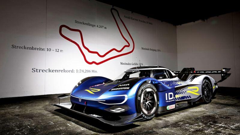 Volkswagen ID.R logra nuevo récord de velocidad en pista Bilster Berg