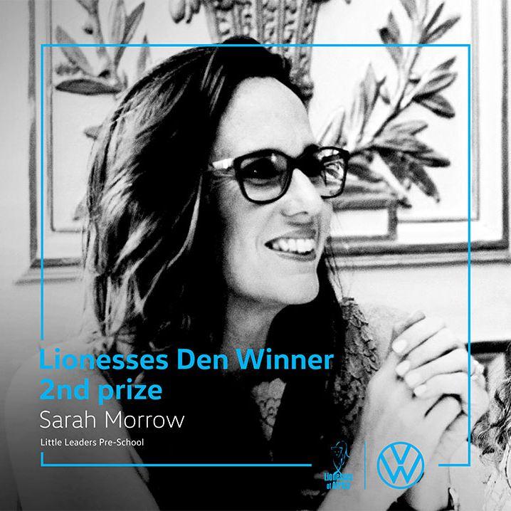 Second prize – R50 000 – Sarah Morrow
