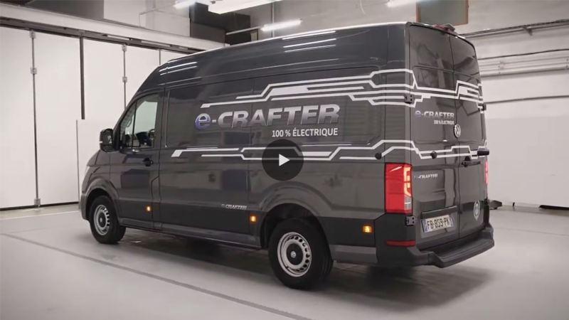 Découverte du e-Crafter Volkswagen Véhicules Utilitaires avec Petites Observations Automobiles