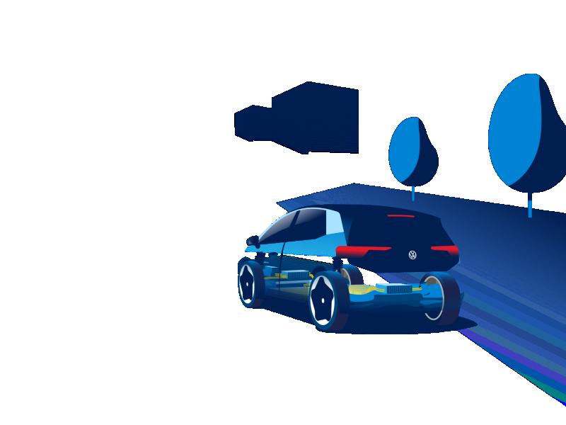 Nogle tekniske komponenter i VW ID.3