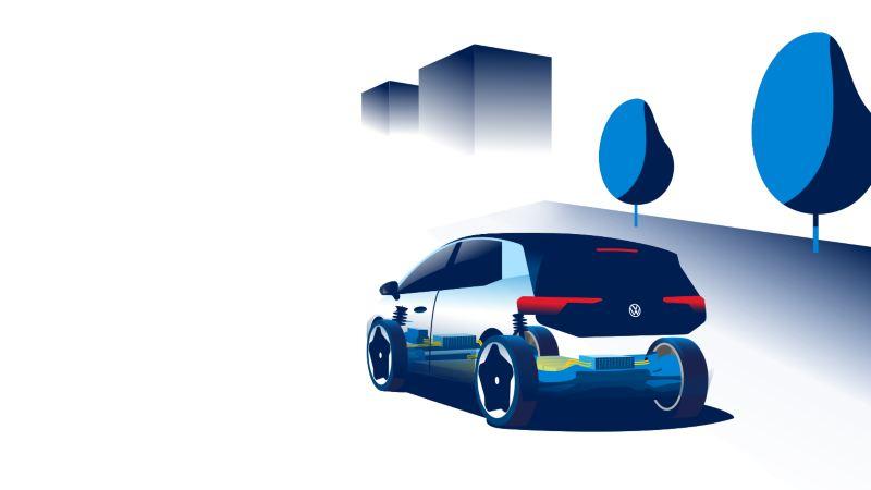Økonomisk kjøring og energigjenvinning VW Volkswagen ID.3 og elbiler
