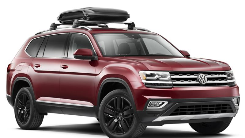 """Vw Atlas car storage, link out to VW """"accessories"""" page"""