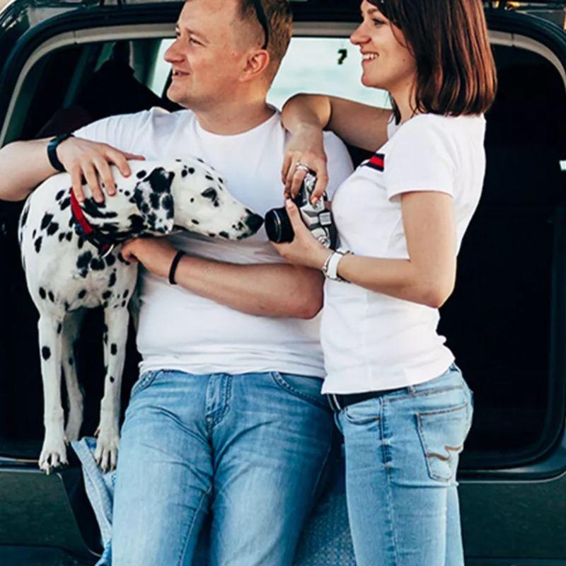 Tiguan 2020 de Volkswagen, la SUV espaciosa y segura ideal para viajar con mascotas