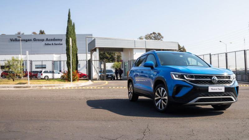 SUV Nuevo Taos, conoce el desempeño de esta camioneta Volkswagen en carretera.